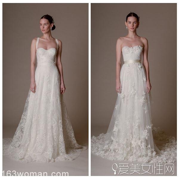 媲美王微微 Marchesa2016春季婚纱礼服系列