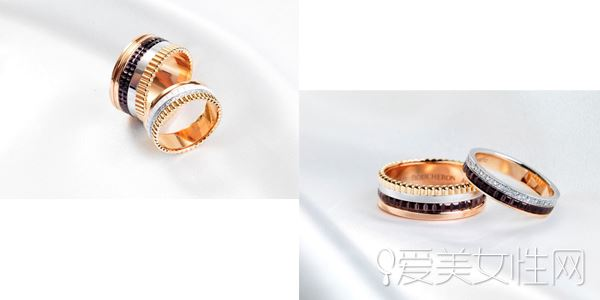 Boucheron结婚情侣戒指是见证一生的印记