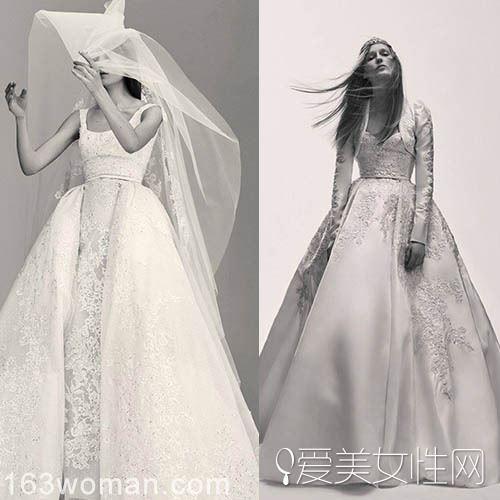 艾莉·萨博婚纱品牌推出首个婚纱系列LookBook 精美奢华