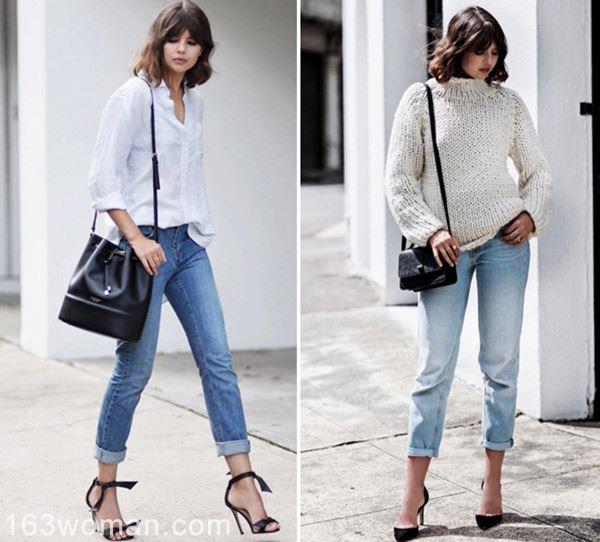 跟她学,只穿3个颜色也能时髦到极致!