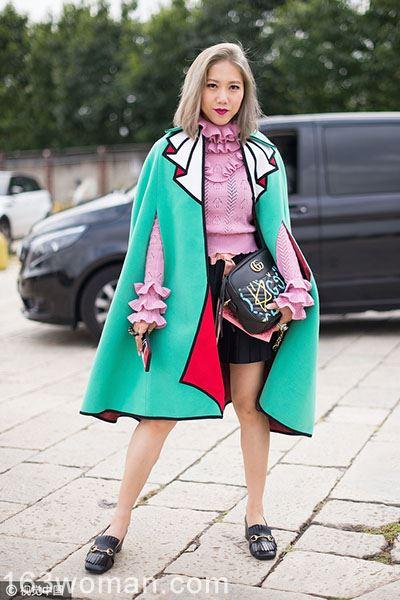 跟时尚潮人学穿清新草绿,新的一年活力满满!