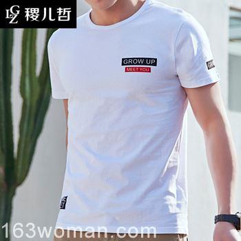 今夏型男最爱的T恤衫是长这样的